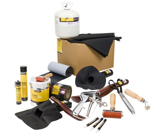 Pandser het merk voor dak, goot en gevel